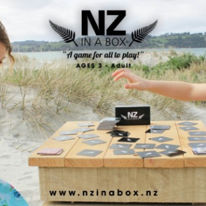 Girls playing NZ IN A BOX