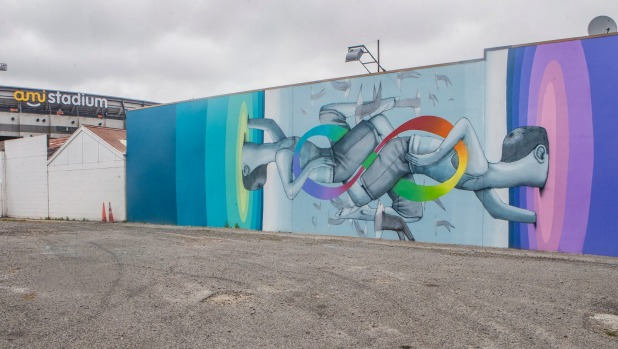 chch5 Christchurch ranked as a global street art capital in new Lonely Planet book